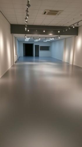 Nieuwe PU-vloer winkelpand Kampen (2) | maart 2018